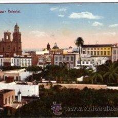 Postales: Nº 8753 LAS PALMAS CATEDRAL CANARIAS. Lote 25447155