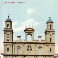Postales: Nº 8764 LAS PALMAS CATEDRAL CANARIAS. Lote 25447176