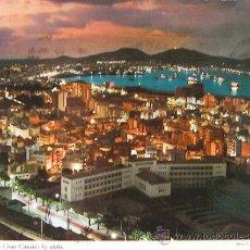 Postales: LAS PALMAS DE GRAN CANARIA, POSTAL PUERTO DE LA LUZ, 1970 CIRCULADA Y CON SELLO. Lote 25595044