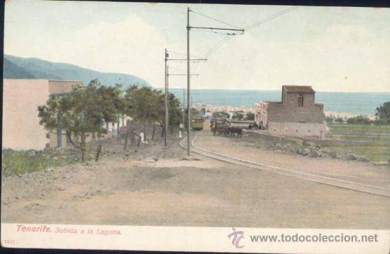 TENERIFE (CANARIAS).- SUBIDA A LA LAGUNA (Postales - España - Canarias Antigua (hasta 1939))
