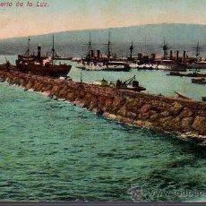 Postales: BUENA POSTAL DE LAS PALMAS PUERTO DE LA LUZ DE J,PERESTRELLO Nº 12 - 1925. Lote 25803002