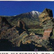 Postales: PARQUE NACIONAL DEL TEIDE Nº 114 LOS ROQUES SIN CIRCULAR. Lote 25953632