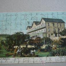 """Postales: """"LAS PALMAS. SANTA BRÍGIDA HOTEL"""". CIRCULADA, ESCRITA Y CON SELLO DE 10 CTS DE ALFONSO XIII. Lote 26287985"""