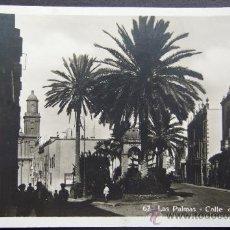 Postales: LAS PALMAS – CALLE DE CASTILLO – FOTOGRAFÍA BAZAR ALEMÁN. Lote 26687788