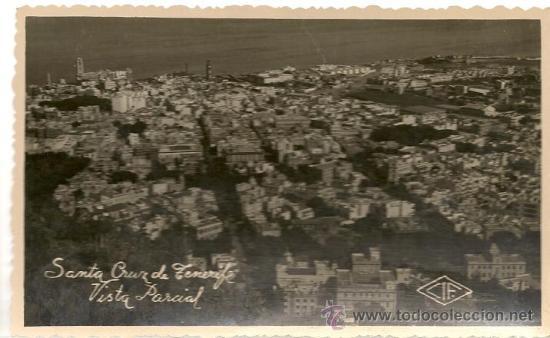 POSTAL SANTA CRUZ DE TENERIFE, VISTA PARCIAL (Postales - España - Canarias Moderna (desde 1940))