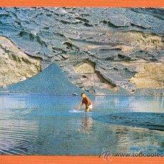 Postales: LANZAROTE - EL GOLFO - PISCINA AL NATURAL - SERIE 21 Nº 5 FOTOGRAFIA GABRIEL - IMP. CASAMAJÓ. Lote 27305540