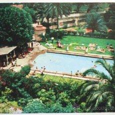 Postales: GRAN CANARIA. LAS PALMAS DE GRAN CANARIA. PISCINA DEL HOTEL SANTA CATALINA.. Lote 27607003