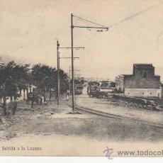 Postales: TENERIFE. SUBIDA A LA LAGUNA.FOTOGRAFICO.TRANVIA.CARRO CABALLO.. Lote 27654703