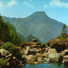 Postales: ISLA DE SAN MIGUEL DE LA PALMA Nº 132 PARQUE NACIONAL DE LA CALDERA DE TABURIENTE ED. RO CIRCULADA . Lote 27708954