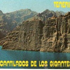 Postales: BUN POSTAL DE TENERIFE LOS GIGANTES. Lote 27799437