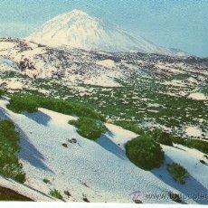 Postales: POSTAL DE TENERIFE - TEIDE NEVADO .-. Lote 27799457