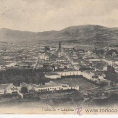 Postales: FASCINANTE POSTAL DE : LAGUNA. TENERIFE.CANARIAS. CIRCULADA 1909. Lote 27802430