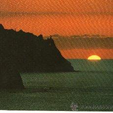 Postales: POSTAL DE TENERIFE - TAGANANA - ATARDCER EN EL MAR. Lote 27805966