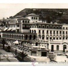 Postales: SANTA CRUZ DE TENERIFE. GRAN HOTEL MENCEY. (FOTOGRÁFICA). Lote 27926925