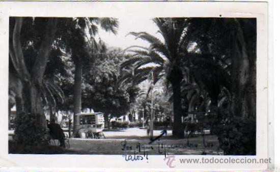 TENERIFE. PUERTO DE LA CRUZ. PLAZA DEL CHARCO. Nº 65. FOTO BAENA. CIRCULADA. (Postales - España - Canarias Antigua (hasta 1939))