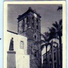 Postais: CANARIAS. SANTA CRUZ DE LA PALMA. LIBRERIA CERVANTES. DEP FOTOGRÁFICO. FOTOGRAFICA. SIN CIRCULAR.. Lote 27967716