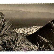 Postales: SANTA CRUZ DE TENERIFE. VISTA DESDE LOS CAMPITOS. (ED. LUJO, Nº 85). Lote 28097520