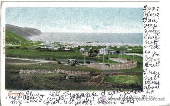 TENERIFE, POSTAL CIRCULADA AÑO 1903 (Postales - España - Canarias Antigua (hasta 1939))