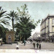 Postales: LAS PALMAS (ISLAS CANARIAS) PARQUE Y CAPITANIA. . Lote 28190218