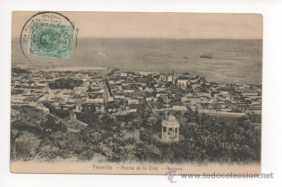 TENERIFE PUERTO DE LA CRUZ-OROTAVA -NOBREGA'S ENGLISH BAZAR. (Postales - España - Canarias Antigua (hasta 1939))
