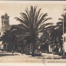 Postales: LAS PALMAS (GRAN CANARIA).- PLAZA DE CAIRASCO. Lote 28296314