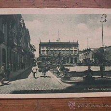 Postales: AYUNTAMIENTO DE LAS PALMAS DE GRAN CANARIA, EDICIONES VIUDA DE RAFAEL ROMERO, SIN CIRCULAR. Lote 28327850