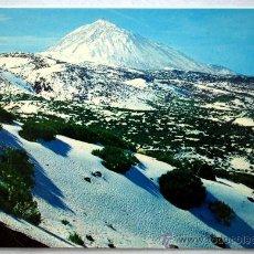 Postales: TENERIFE. TEIDE NEVADO.. Lote 28380528