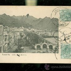 Postales: TARJETA POSTAL DE TENERIFE. CALLE DE LA MARINA. NOBREGA´S ENGLISH BAZAR.. Lote 28399004