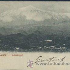 Cartoline: POSTAL DE CANARIAS TENERIFE PICO DE TEIDE P-CAN-167. Lote 28401921