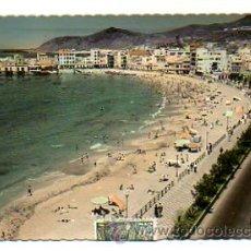 Postales: PUERTO DE LA CRUZ (LAS PALMAS). PLAYA DE LAS CANTERAS. (ED. LUJO). Lote 28476553