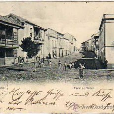 Postales - Postal editada en el Siglo XIX. Gran Canaria View at Teror. Circulada en el Siglo XX. - 28504442