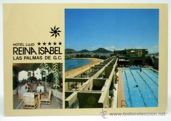Postal Hotel Reina Isabel Las Palmas Gran Canar Comprar Postales