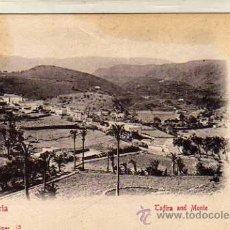 Postales: POSTAL EDITADA EN EL SIGLO XIX. BAZAR ALEMAN Nº 15. LAS PALMAS. GRAN CANARIA. TARIFA AND MONTE.. Lote 28506817