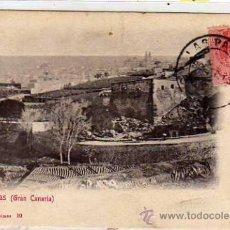 Postcards - Postal editada en el Siglo XIX. Bazar Aleman nº 10. Las Palmas. Gran Canaria. Circulada XX - 28506843