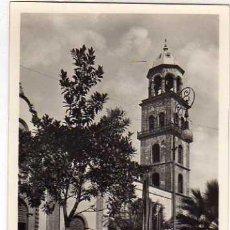 Postales: CANARIAS. SANTA CRUZ DE TENERIFE. IGLESIA SAN FRANCISCO. FOTO CENTRAL. SIN CIRCULAR.. Lote 28664887