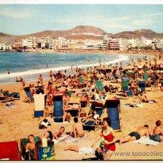 Postales: GRAN CANARIA. LAS PALMAS. PLAYA DE LAS CANTERAS.. Lote 28796401