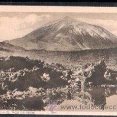 Postais: TARJETA POSTAL DE TENERIFE - EL PICO DEL TEIDE. Lote 29033581