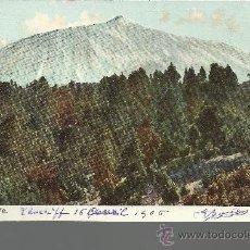 Postales: CANARIAS TENERIFE EL TEIDE ESCRITA. Lote 29113018