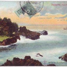 Postales: TENERIFE: PUERTO CRUZ - OROTAVA. NOBREGAS ENGLISH BAZAR. CIRCULADA (C.1910). Lote 29145250