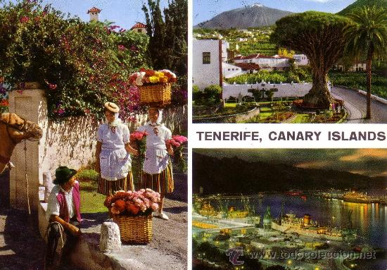ESPAÑA. T. P. TENERIFE (CANARIAS). CIRCULADA AÑO 1968. MAGNÍFICA. (Postales - España - Canarias Moderna (desde 1940))