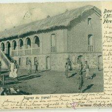 Postales: CONGO BELGA. BADOUINVILLE. CIRCULADA DESDE TENERIFE EN 1903. Lote 29186227