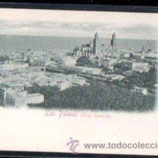 Postales: TARJETA POSTAL DE LAS PALMAS DE GRAN CANARIA - VISTA DE LAS PALMAS. RUDOLF SEHIMRON 1898 Nº12. Lote 29497817