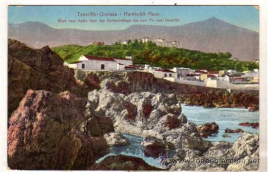 TENERIFE. TENERIFFA OROTAVA. HUMBOLDT HAUS. CIRCULADA. (Postales - España - Canarias Antigua (hasta 1939))