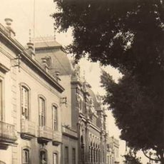 Postales: FOTOGRAFIA ORIGINAL 15 X 9,5 CM TENERIFE. SANTA CRUZ. CALLE RUIZ DE PADRON. COCHE.. Lote 29512988