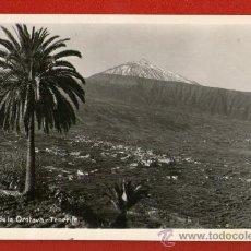 Postales: PRECIOSA Y ANTIGUA POSTAL: VALLE DE LA ORATAVA - TENEFIRE - USADA Y ESCRITA POR EL DORSO - AÑO 1949.. Lote 29513989