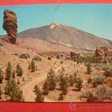 Postales: TENERIFE. LAS CAÑADAS Y EL TEIDE. Lote 29620117