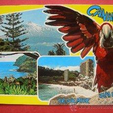 Postales: ISLAS CANARIAS. TENERIFE ISLAS DE AMOR. Lote 29621675