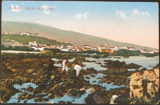 POSTAL CANARIAS TENERIFE PUERTO DE LA CRUZ . CA AÑO 1910 . (Postales - España - Canarias Antigua (hasta 1939))