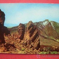 Postales: EL TEIDE DESDE EL ROQUE CINCHADO. TENERIFE. Lote 29915249