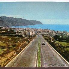 Postales: ANTIGUA POSTAL DE TENERIFE - AUTOPISTA HACIA SANTA CRUZ DE TENERIFE - FOTO M. HERZBERG - Nº 40 -. Lote 29988595